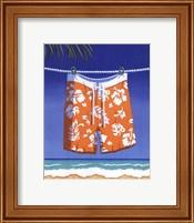Beach Bound - Boardshorts Fine Art Print