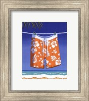 Beach Bound - Boardshorts Fine Art Print