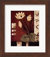Lotus Silhouette I Fine Art Print