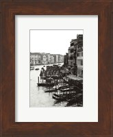 Array of Boats, Venice Fine Art Print