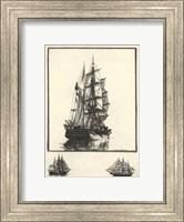 Antique Ships I Fine Art Print