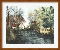 Autumn Landscape III Giclee