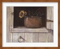 Sunflower and Copper Fine Art Print
