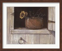 Sunflower and Copper Fine Art Print