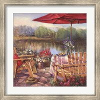 Summer Patio Fine Art Print