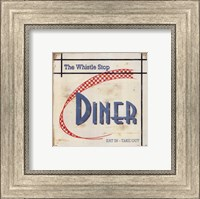Whistle Stop Diner Fine Art Print