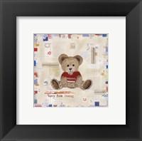 Teddy Bear Cuddles Fine Art Print