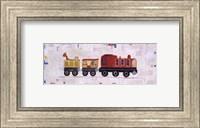 Red Circus Train Fine Art Print