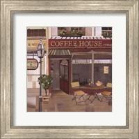 Coffee House Corner Fine Art Print