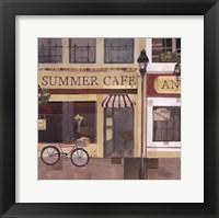 Summer Cafe Fine Art Print