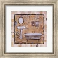 Vintage Bath Time I Fine Art Print