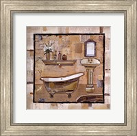 Vintage Bath Time II Fine Art Print
