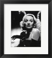 Marlene Dietrich - Black and white Fine Art Print
