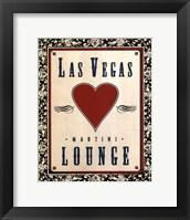 Martini Lounge Fine Art Print