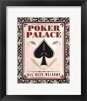 Poker Palace Fine Art Print