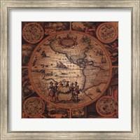 Map - Cartographica 2 Fine Art Print