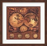 Map - Cartographica 3 Fine Art Print