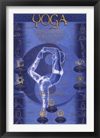 Yoga - Postures And Chakras Wall Poster
