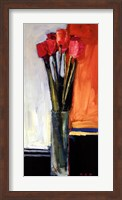 Duet in Red and Gray Fine Art Print