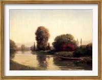 By the Riverside Fine Art Print