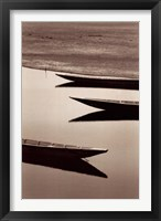 Fishing Boats, Desert of Mauritania Fine Art Print
