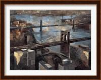 Panoramic View - Manhattan Fine Art Print