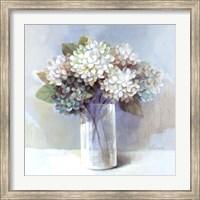 Blue Hydrangea Fine Art Print
