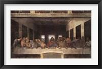 The Last Supper, c.1498 (post-restoration) Fine Art Print