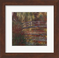 The Water Lily Pond, 1900 Fine Art Print