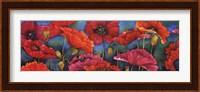 Poppy Parade Fine Art Print