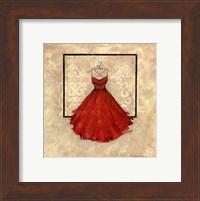 Take Me Dancing II (red) Fine Art Print