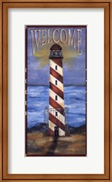 Welcome - Lighthouse Fine Art Print