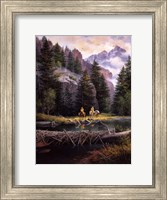 Lure of Rockies Fine Art Print