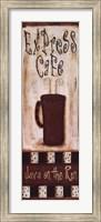 Express Caf, Java On The Run Fine Art Print