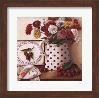 Fresh Picked Cherries Fine Art Print