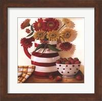 Strawberries in a Bowl Fine Art Print