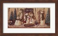 Think Snow Fine Art Print