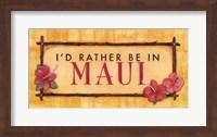 Maui Fine Art Print