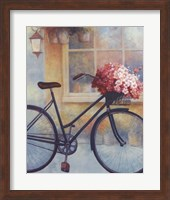 Fleurs/Bicyclette I Fine Art Print