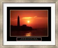Dedication - Lighthouse Fine Art Print