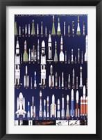 International Space Rockets Fine Art Print