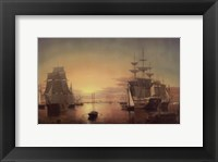 Boston Harbor, about 1850-55 Fine Art Print