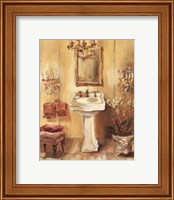 French Bath III Fine Art Print