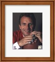 Joe Montana -4 Super Bowl Rings Fine Art Print