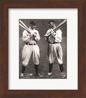 Ty Cobb and Shoeless Joe Jackson Fine Art Print