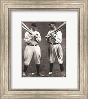 Ty Cobb and Shoeless Joe Jackson Fine Art Print