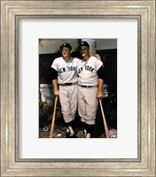 Mickey Mantle and Roger Maris- Palm Trees Fine Art Print