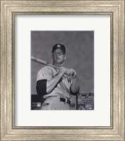 Mickey Mantle- With bat looking towards his right Fine Art Print