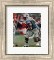 Earl Campbell - Running with ball Fine Art Print
