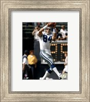 Jay Novacek - Catching ball Fine Art Print